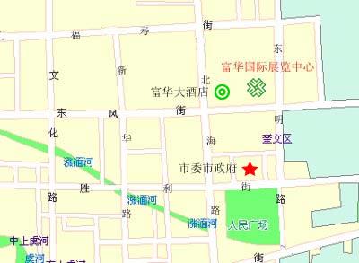 距潍坊市汽车站,火车站仅10分钟车程