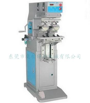 AOK-L12H双头移印机,双头移印机价格,东莞移印机