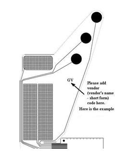 厂家优惠供应电吉它薄膜线路