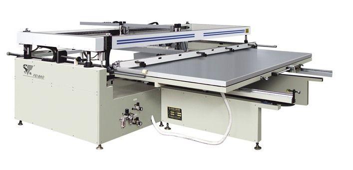 大型半自动印刷机(丝印机)