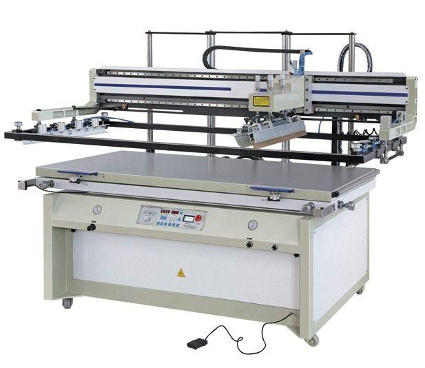 高精密平升式网版丝印机