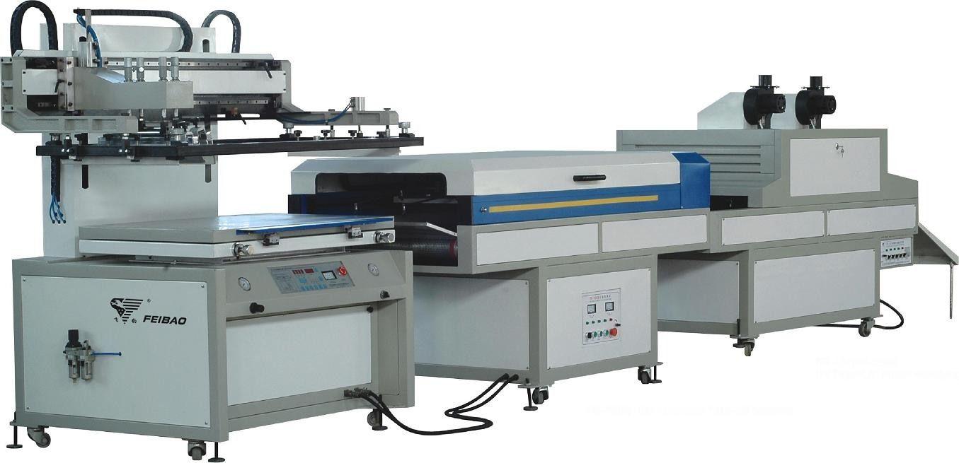 供应飞豹3/4自动 丝网印刷生产线 丝印机