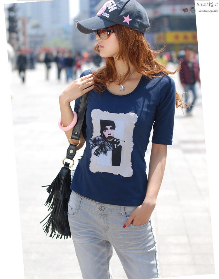 烫画T恤2010年流行的图案