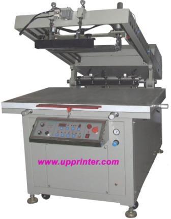 UP-XB80110 电动斜臂式平面丝印机