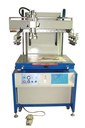 高精密垂直式丝印机