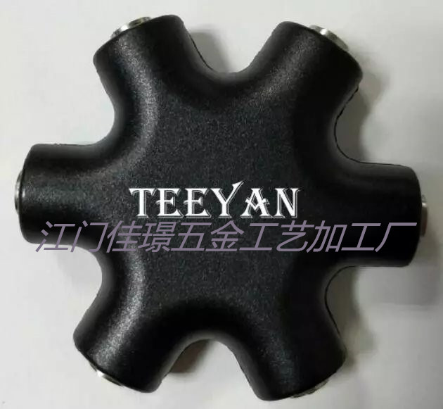 江门佳璟提供塑料六角器印刷logo