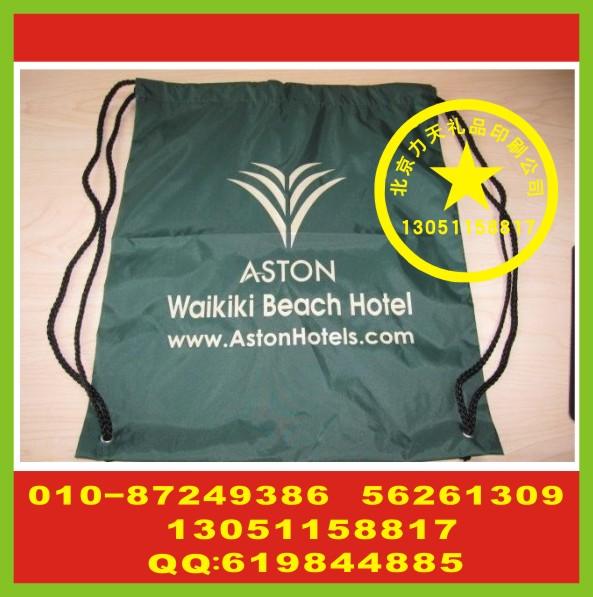 北京收纳袋印字 收纳包丝印logo 双肩包丝印标厂
