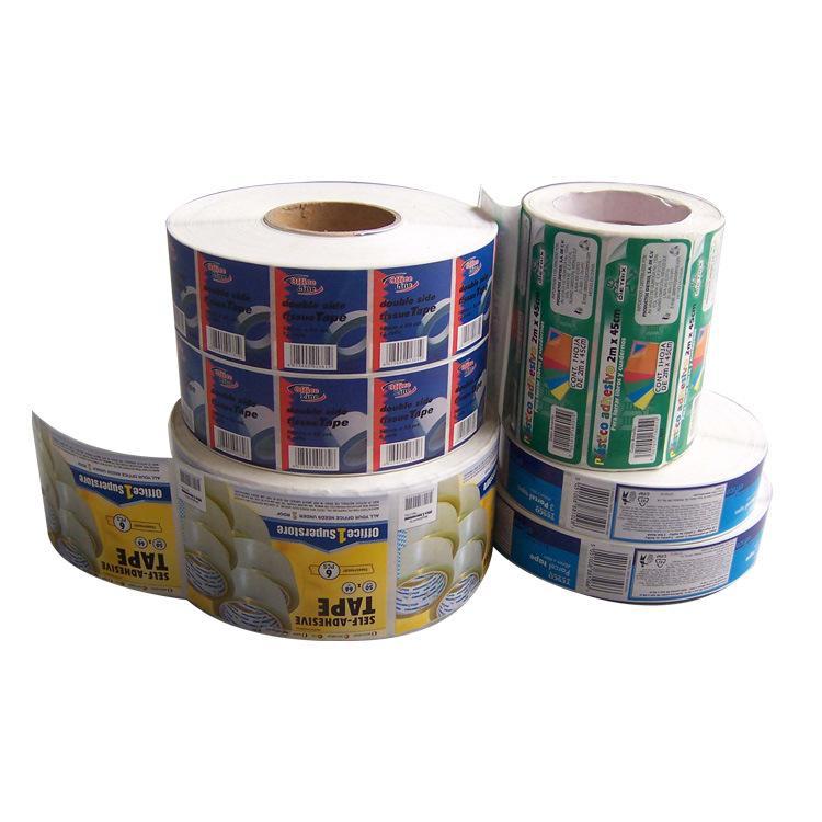 广州白云区不干胶标签卷筒标签牛皮纸不干胶标签贴纸标牌喷码加工二维码标签