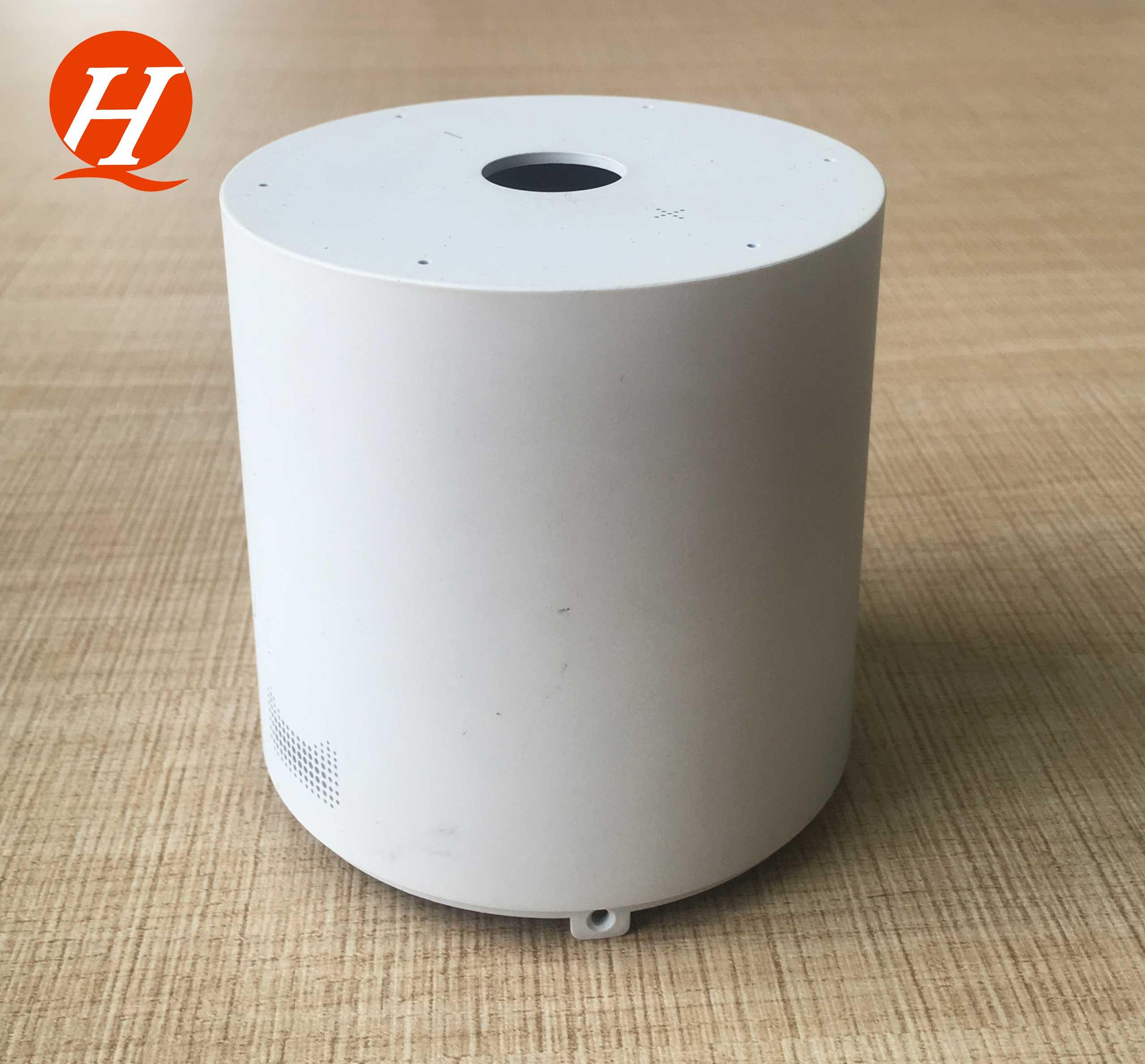 惠州庆和白色小音响外壳处理加工厂