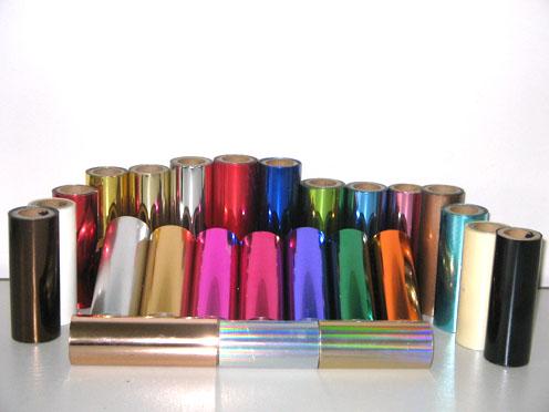 化妆品PE软管UV光油三合一光油烫金纸