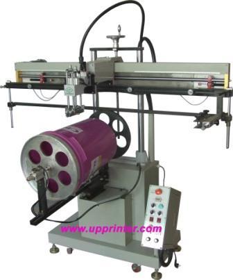 供应涂料桶,塑胶桶丝印机/丝网印刷机/印刷设备