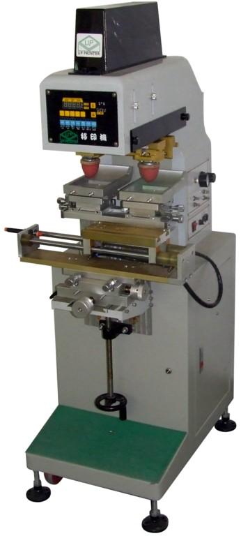 玩具/电子产品/工艺品/饰品双色穿梭移印机