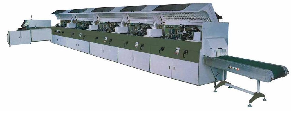 供应全自动UV软管五色丝印龙TWS-102-5UV