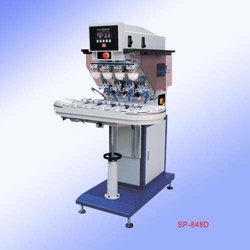 四色移印机东莞四色移印机气动输送带四色移印机SP-848D