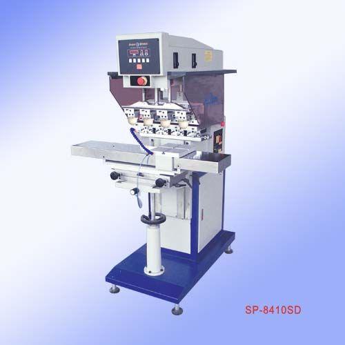 移印机四色移印机四色移印机价格恒晖左右穿梭四色移印机SP-8410SD