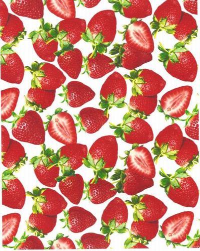草莓水转印膜