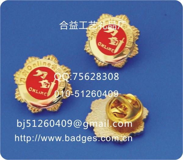 金属徽章、企业LOGO徽章、标志徽章订做