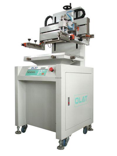供应自动斜臂式丝印机-平面曲面两用丝印机
