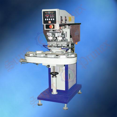 双色移印机,东莞移印机,气动输送带双色移印机SP-824D