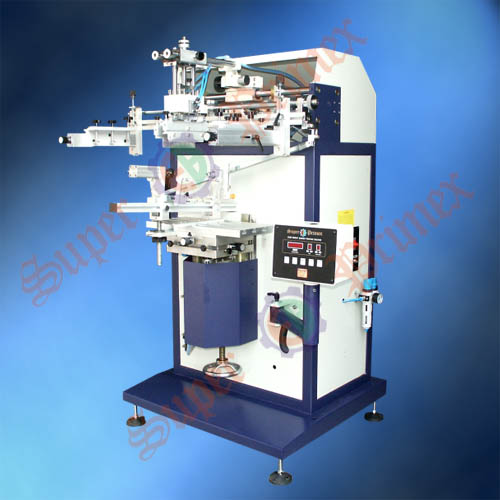 平曲两用丝印机|东莞丝印机厂家|S-450M平面/曲面丝印机