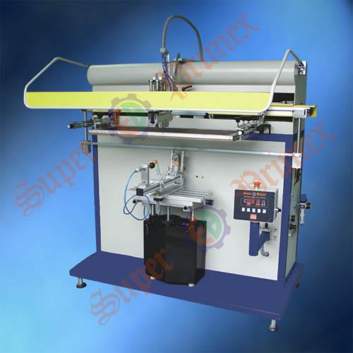 东莞丝印机|圆面/锥面丝印机|丝网印刷设备