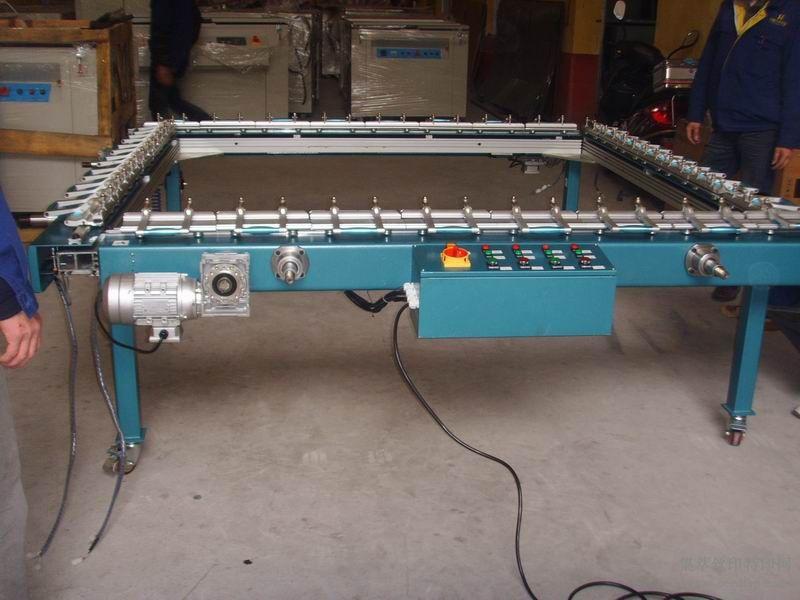 新型电动拉网机,绷网机