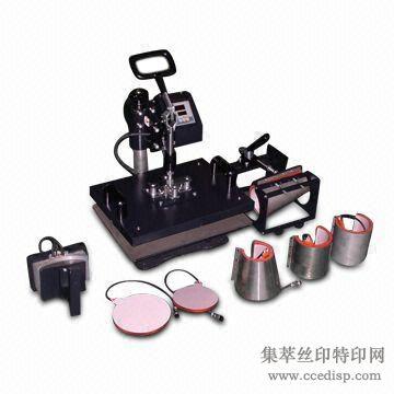 厂家直销 热转印机器设备 多功能八合一烫画机