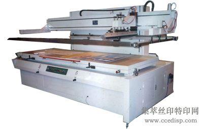 大型垂直式丝印机
