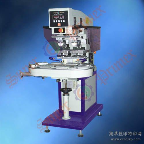 东莞恒晖SP-826D气动输送带双色移印机