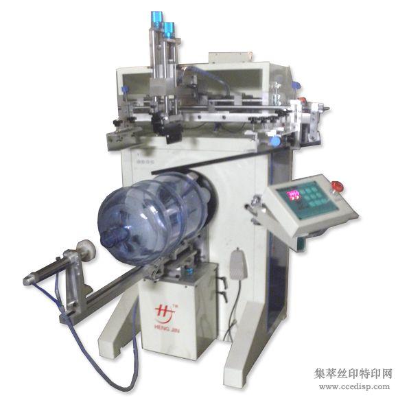 深圳印刷圆面的半自动丝印机