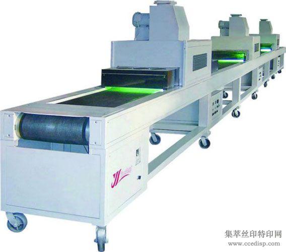 紫外线隧道UV光固机丝网印刷UV光固机