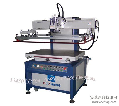寻求代理平面丝印机,半自动立式丝印机