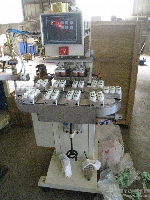 专印怡宝矿泉水瓶盖全自动移印机
