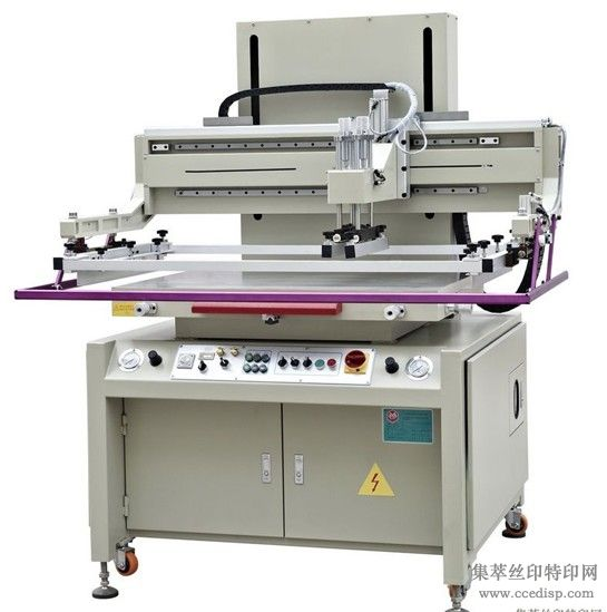 半自动精密平面丝网印刷机