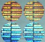 凹版纹理防伪标签温变防伪商标荧光防伪商标洗铝防伪标志