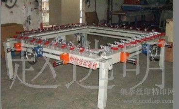 齿轮式绷网机,普通型机械拉网机,齿轮拉网机