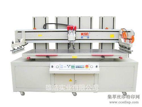 KX-80220四柱立式机械平面丝印机