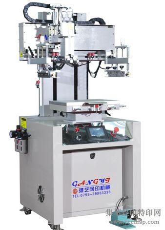 高精密触摸屏伺服直线导轨丝印机GY-4060