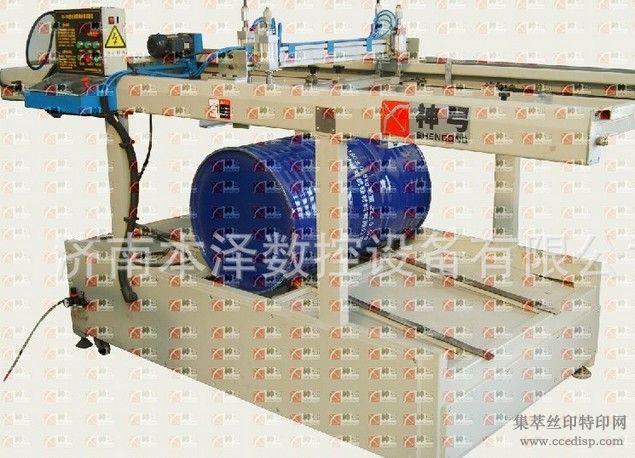 国际钢桶桶标印刷机