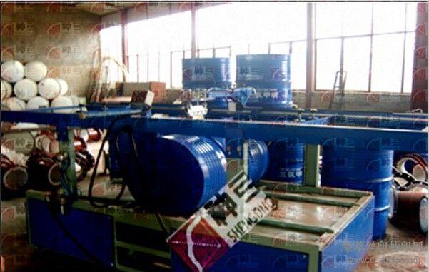 手气动桶标印刷机,钢桶专用桶标印刷机