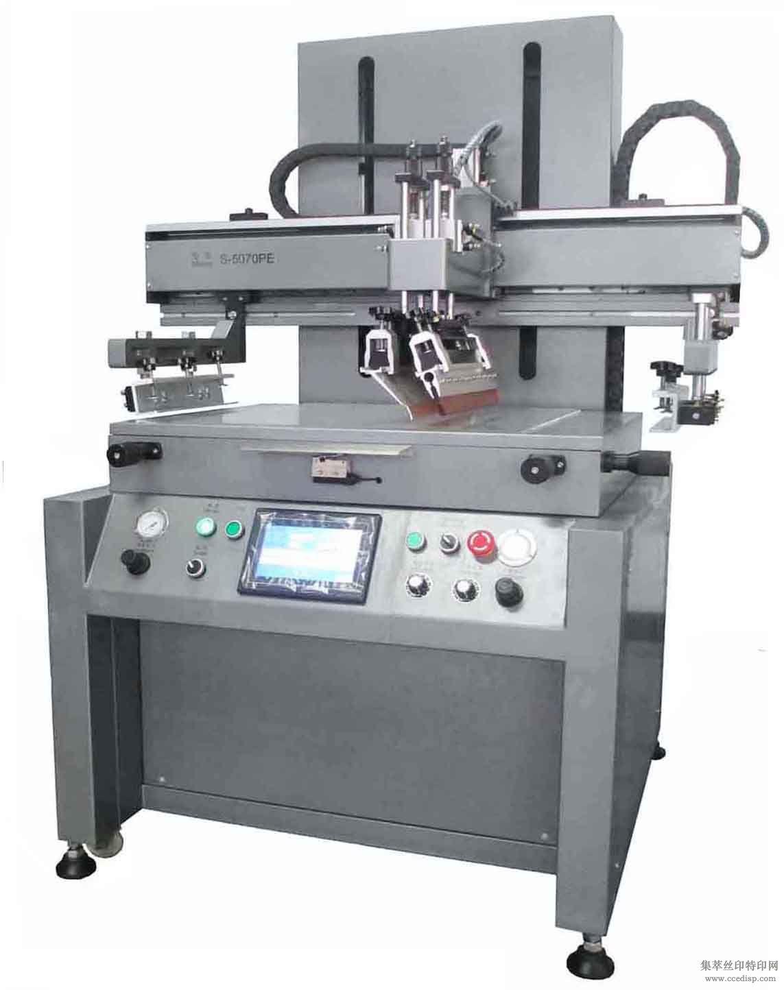 不锈钢制品丝印专业机械,迅源S-4060平面丝印机,机器稳定,品质卓越