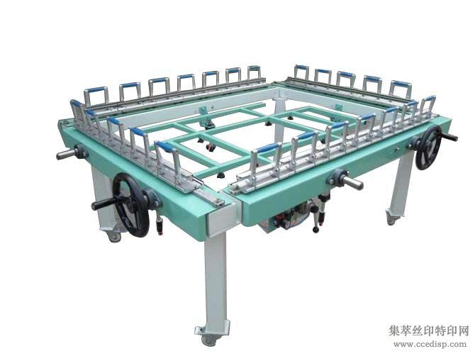 手动 气动 机械绷网机  拉网机