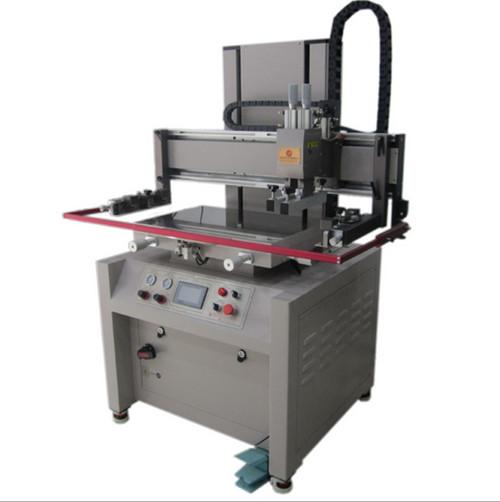 双伺服高精密丝印机GY-3050丝印机半自动丝印机平面丝印机