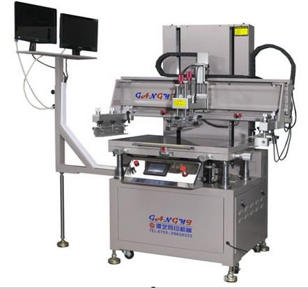 CCD对位高精密伺服垂直丝印机半自动丝印机平面丝印机丝印机