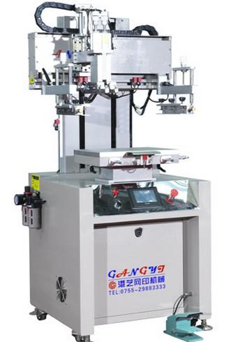 高精密伺服电动垂直式丝印机丝印机半自动丝印机平面丝印机
