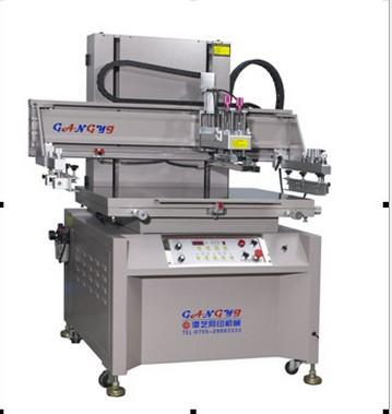 高精密5070丝印机半自动丝印机平面丝印机港艺丝印机厂家