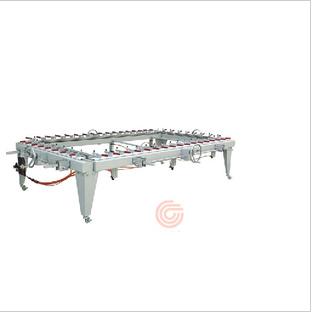 港艺拉网机GY-1215机械拉网机机械式拉网机气动拉网机
