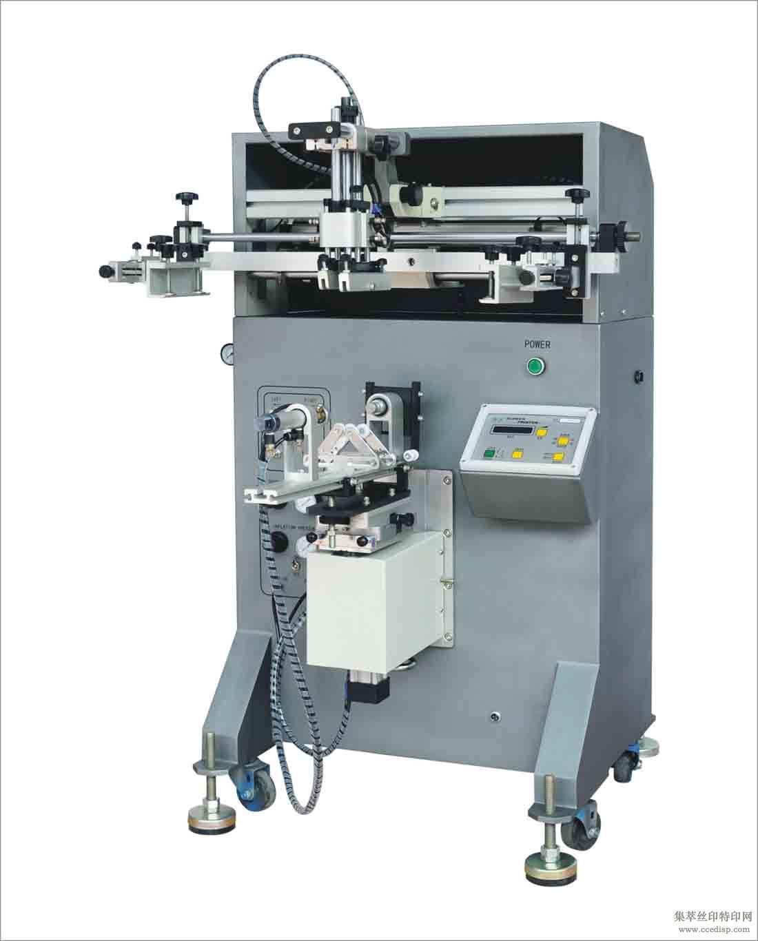 陶瓷印刷曲面丝印机S-400R,东莞迅源丝印机,专业设计生产印刷机械