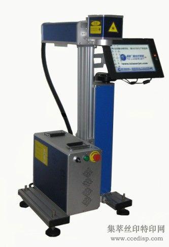 绵阳电子元器件激光打标机找真正的厂家成都添彩没有中间环节