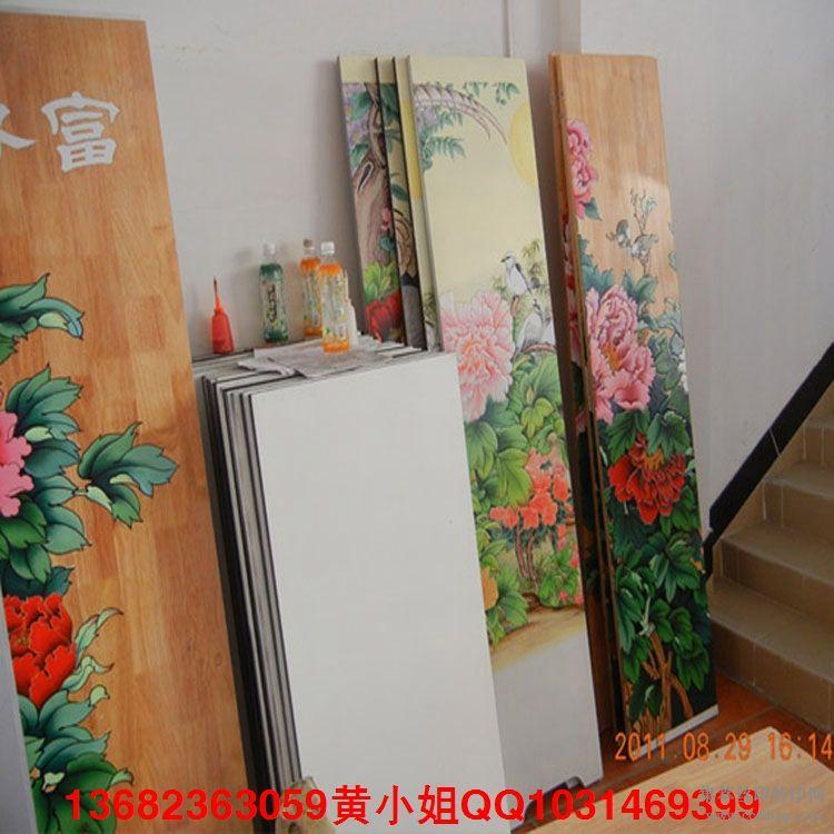 宁夏回族刨花板玄关UV平板喷画机高精度快速打印